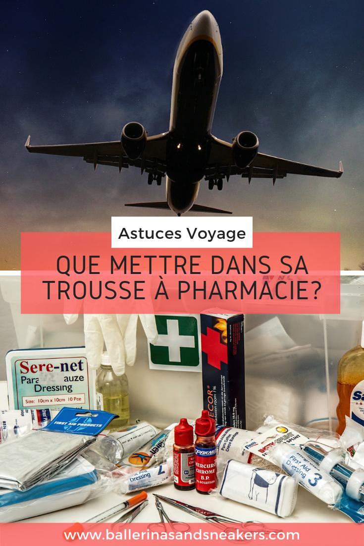 Que mettre dans sa trousse à pharmacie pour le voyage? #astucevoyage #troussepharmacie #medicamentvoyage #preparerbagage #tourdumonde #essentielvoyage