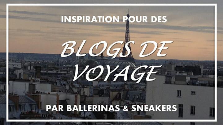 Recommandation de blogs voyage