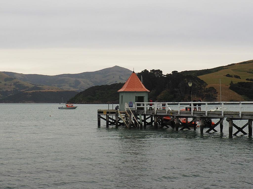 Itinéraire 3 semaines: la ville d'Akaroa à Bank Peninsula en Nouvelle-Zélande