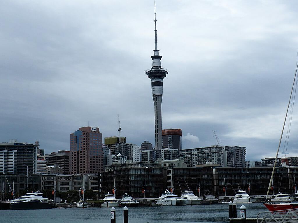 Découverte de la ville d'Auckland et de son centre-vill en Nouvelle-Zélande