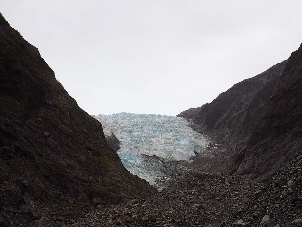 Itinéraire 3 semaines dans l'île du sud de la Nouvelle-Zélande: le glacier de Franz Jospeh