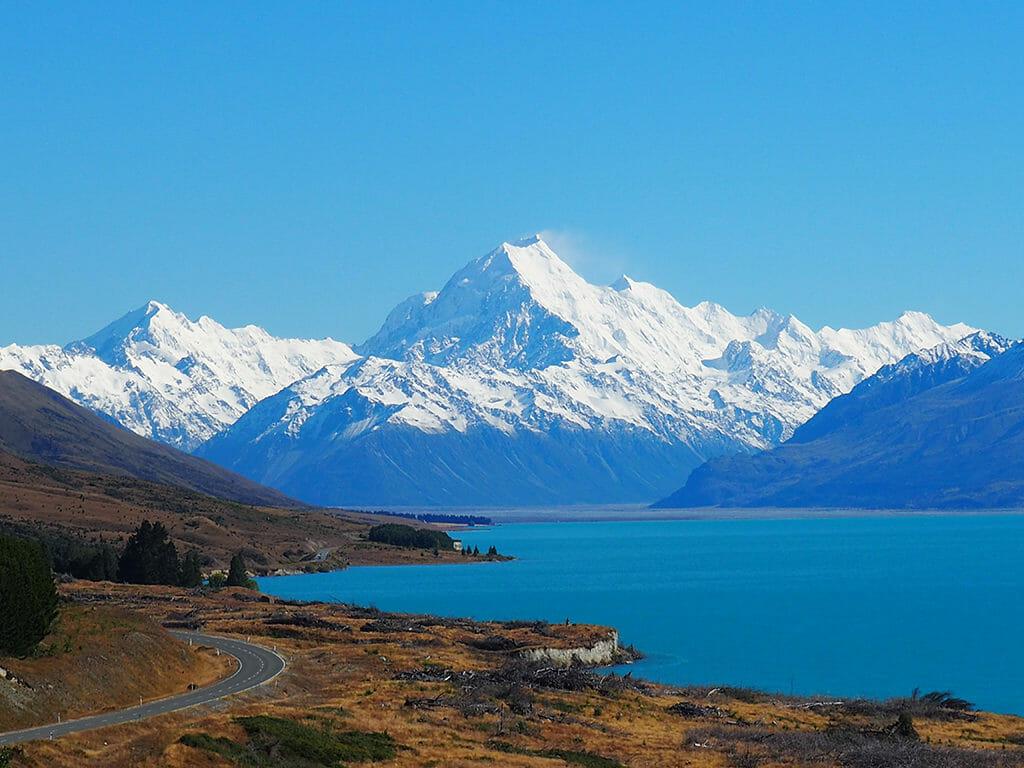 Itinéraire 3 semaines: le Mont Cook près de Twizel en Nouvelle-Zélande
