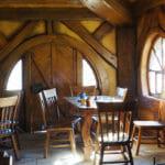 L'intérieur de la taverne à Hobbiton en Nouvelle-Zélande