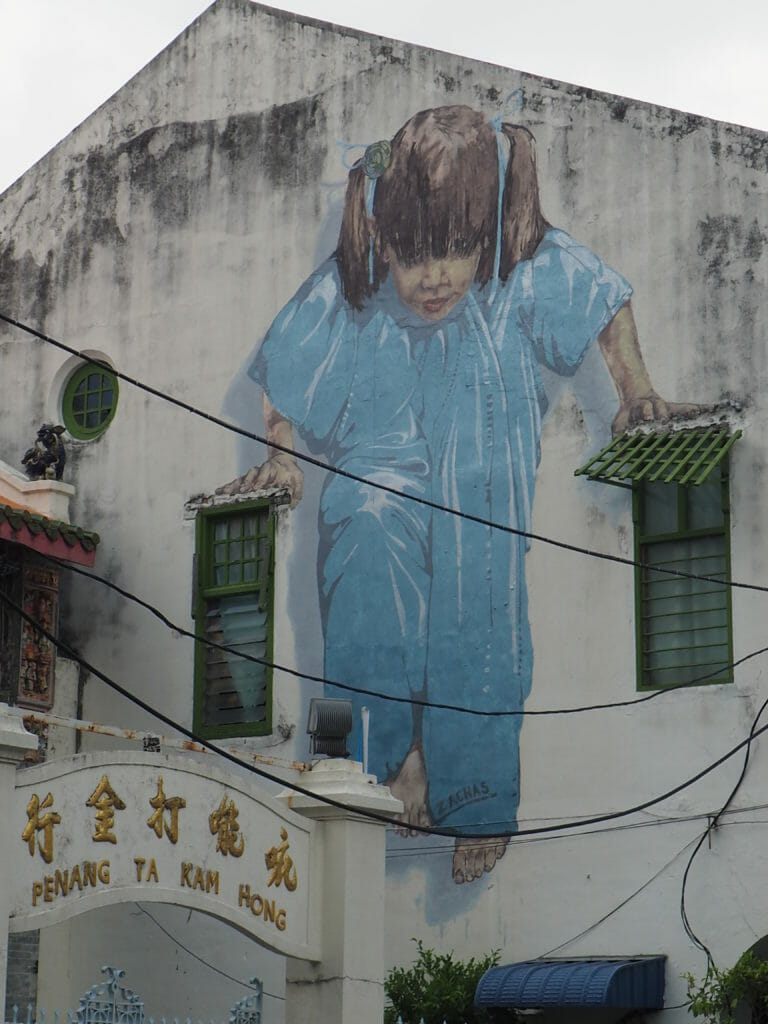 Visiter Penang: Street art à Penang