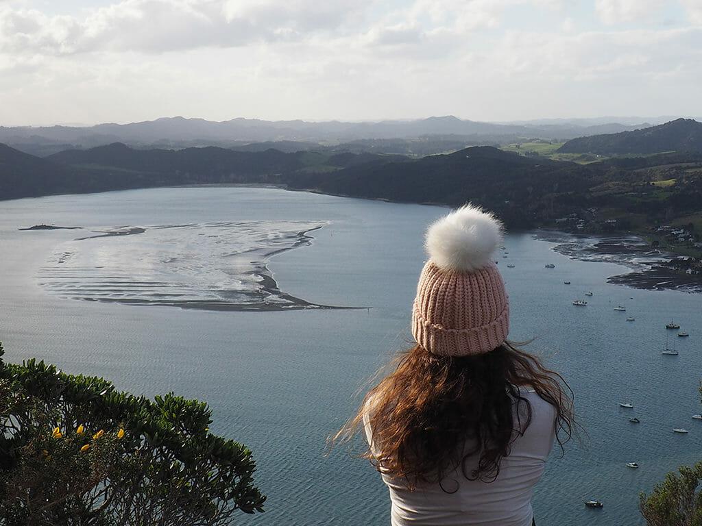 Randonnée à Whangarei Heads près de l'océan