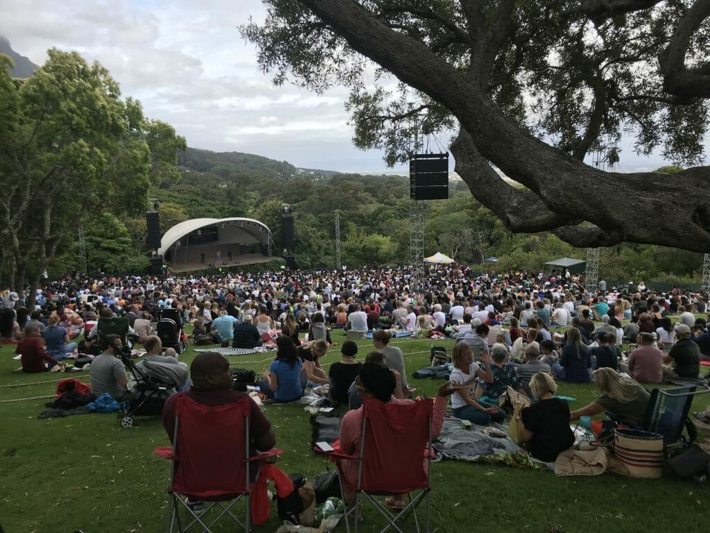 Itinéraire Afrique du Sud: jardins de Kirstenbosch