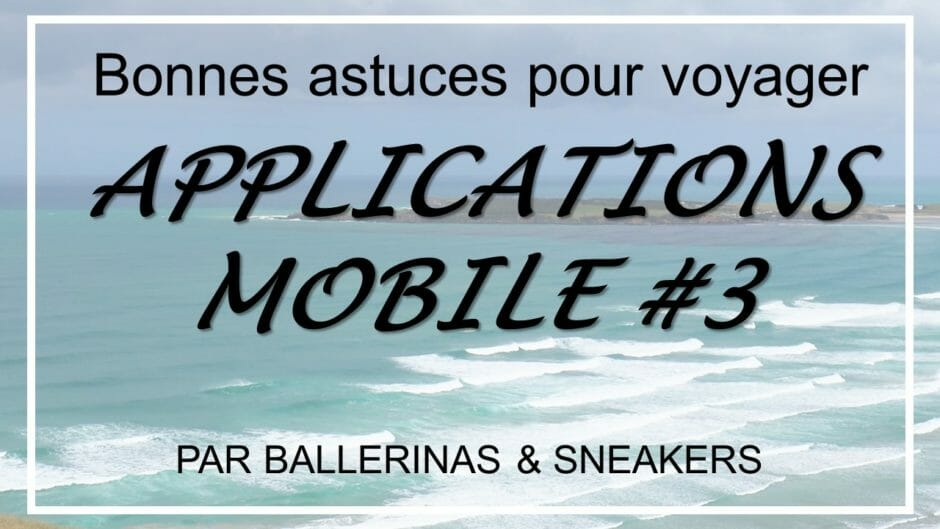 Application,voyage,smartphone, ballerinasandsneakers
