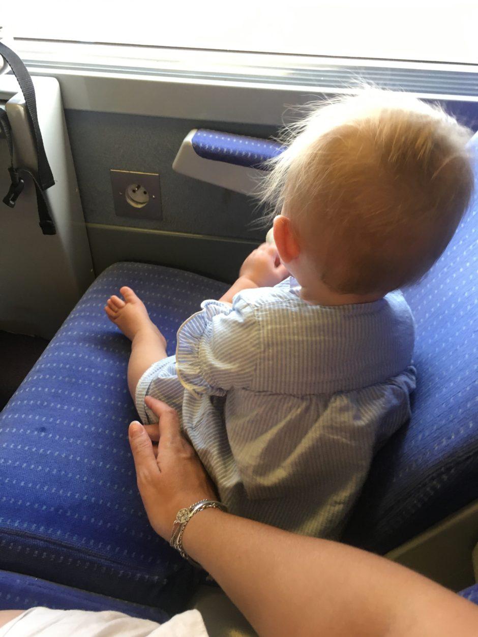 Voyage avec bébé en train